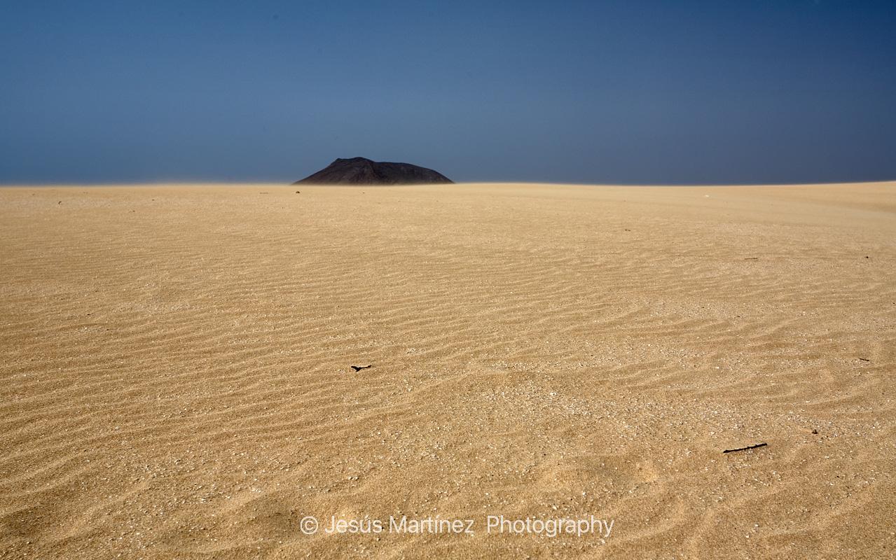 Duna en Corralejo. Fuerteventura